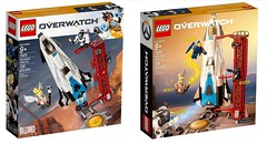 LEGO Overwatch Watchpoint Gibraltar 75975 (minifigpriceguide.com) Tags: lego overwatch