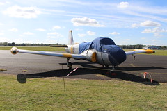IMG_9656 (routemaster2217) Tags: northweald aviation aeroplane aircraft jetaircraft fighterjet trainingaircraft jettrainer bacjetprovostt4 britishaircraftcorporation jetprovostmk4 royalairforce raf centuryaviationltd xr673 gbxlo