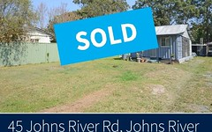 45 Johns River Road, Johns River NSW