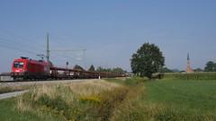 Umleiterverkehr in Übersee am Chiemsee (TrainspotterLitchi) Tags: übersee am chiemsee trainspotterlitchi trainspotting deutschland oberleitung öbb s