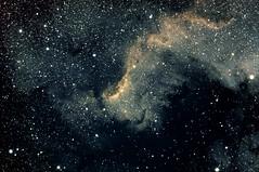 NGC-7000-the-wall--6x900s (Alun_ H) Tags: ngc sky space wall nebula qhy 168c