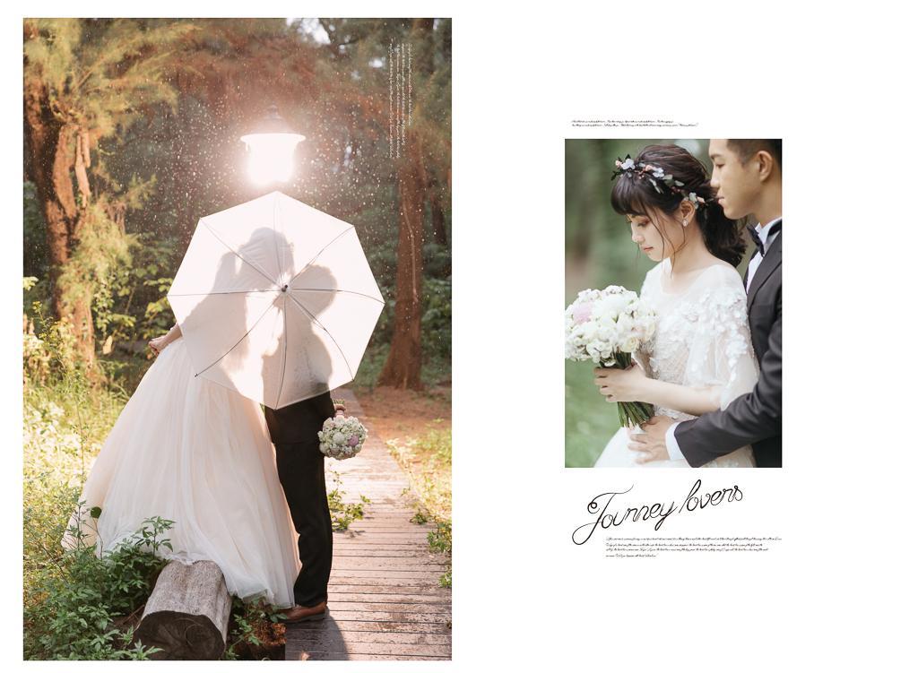 柔美的微笑征服浪漫的婚紗影像|jieli婕莉禮服