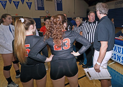 IMG_8382 (SJH Foto) Tags: girls high school volleyball garden spot palmyra regional semifinals canon 1018 f4556 stm superwide lens pregame ceremonies ref referee captains coin toss