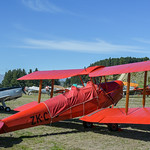 Tiger Moth ZK-CYC with successors thumbnail