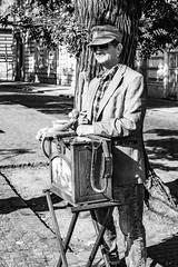 Organ Grinder (scroy65) Tags: czek leica leicasl prague travel czechrepublic cz
