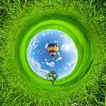 Toronto Ontario - Canada - Hot Air Balloon - Scenic View thumbnail