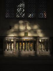PA040048 (badger_beard) Tags: duxford st johns church cambridge cambridgeshire south cambs churches conservation trust shadow autumn light shade sunlight fall