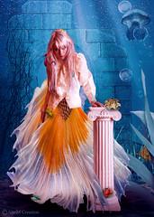 In The Sea (_Ann m_) Tags: fish tail sea water girl mermaid manipulation photoshop photomanipulation