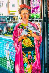Heart of the Mission (Thomas Hawk) Tags: america california fridakahlo missiondistrict sanfrancisco usa unitedstates unitedstatesofamerica graffiti streetart us fav10