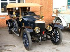 1914 Newton Bennett Tourer M 7371 (BIKEPILOT, Thx for + 4,000,000 views) Tags: 1914 newtonbennett tourer m7371 brooklandsgreatwar100 thegreatwarday brooklandsmuseum weybridge surrey uk england britain car automobile vehicle transport classic vintage wwi thegreatwar museum blue