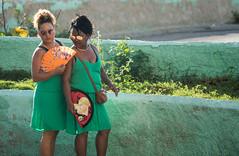 Havana, Cuba (ChrisGoldNY) Tags: chrisgoldphoto chrisgoldny chrisgoldberg cuba cuban caribbean latinamerica licensing forsale cubano bookcover albumcover sony sonyimages sonya7rii sonyalpha havana habana lahavana lahabana green malecon candid women fans sunglasses friends lady ladies females people pastel