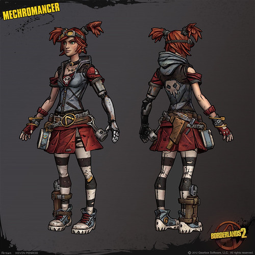 Borderlands 2 Gaige Mechromancer