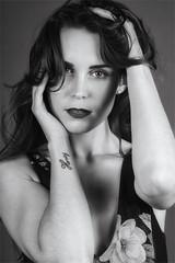 Kelly (Best Snaps) Tags: model female sexy love blackandwhite studio lighting canon camera posing pose