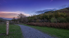 Moel Famau, North Wales (joanjbberry) Tags: fujifilmxt3 xt3 landscape northwales wales sunset trees conservation
