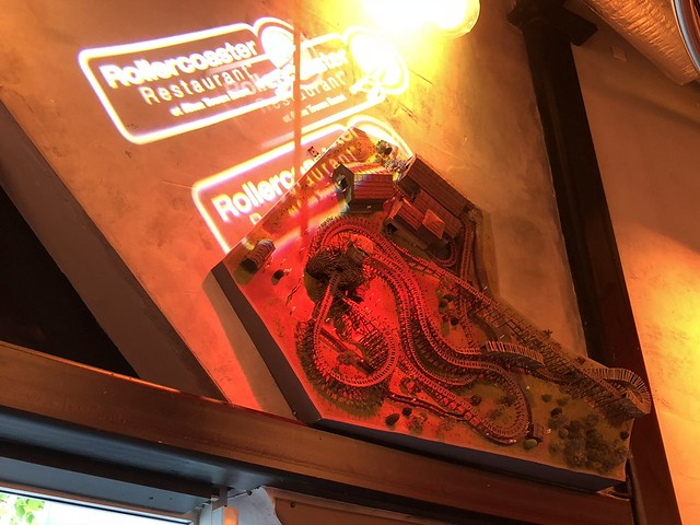 Rollercoaster Restaurant - The Wicker Man Model