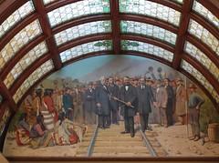 Lewis et Clark rencontrent les Flatheads (Iris@photos) Tags: usa montana helena capitole peinture charlierussell lewisetclark