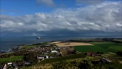 coastline (UndaJ) Tags: timelapse tantallon bassrock eastcoast coast sea cloudscape timescales video movie