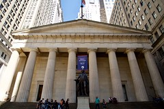 Federal Hall, Lower Manhattan, NY (AperturePaul) Tags: newyorkcity newyork unitedstates america manhattan nikon d600 wallstreet federalhall architecture lowermanhattan