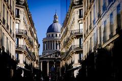 Panthéon (Calinore) Tags: paris city ville panthéon quartierlointain reflet reflection architecture veme