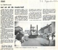 1990: La Saint-Louis, sur un air de music-hall