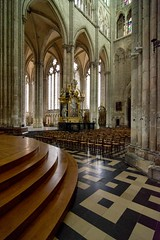 _DSC4634 (durr-architect) Tags: cathedral notre dame amiens gothic church historic city lightness airiness interior decoration tower arch portal gallery rose window organ unesco world heritage site