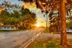 Setting Sun 101018 (kendoman26) Tags: hdr nikhdrefexpro2 nikon nikond7100 tokinaatx1228prodx tokina tokina1228 sun sunset sunburst