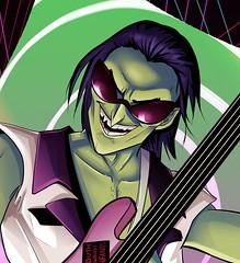 Ace - Tranz Close Up (KenV_) Tags: gorillaz ace thegorillaz alternative music