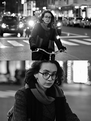 [La Mia Città][Pedala] (Urca) Tags: milano italia 2018 bicicletta pedalare ciclista bike bicycle nikondigitale scéta ritrattostradale portrait dittico biancoenero blackandwhite bn bw 115858