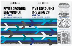 NEXT STOP by Studio No. 9 for Five Boroughs Brewing Co. (Label_Craft) Tags: beer beers craftbeer brew suds ale hops labels craft labelcraft beerlabel design illustration type fonts burp beerme brewery fiveboroughs fiveboroughsbrewing fiveboroughsbrewingco nextstop ddh doubleipa ipa dipa iipa sunsetpark brooklyn nyc