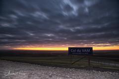 Col du VAM (aNNajé) Tags: colduvam vam zonsopkomst ochtend langesluitertijd leefilter le landschap landschapsfotografie wolken wolkenlucht bewolkt