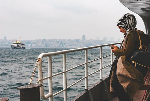 Kadıköy-Karaköy ferry, Istanbul