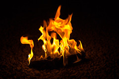 Dancing Flame (24002283) Tags: lightroom hot fire flame dark