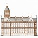 The City Hall in Amsterdam by an anonymous maker (1696-1706). Original from the Rijks Museum. Digitally enhanced by rawpixel.