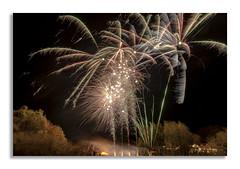 Village Fireworks 2018 (1 of 5) (johnhjic) Tags: johnhjic nikon d800e d850 yorkshire northyorkshire fireworks firework colour colours color colors village evening wind trees tree