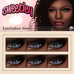 Sweetley - Eyeshadow Aireen add @ CALIFORNIA BEACH EVENTS (Sweetley SL) Tags: sweetley eyeshadow sl secondlife avatar mesh makeup fashion new original exclusive bento californiabeachevent event california hud applier fp beautty cosmetic