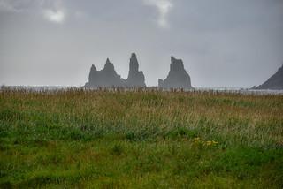 Reynisdrangar Sea stacks - Vik Iceland
