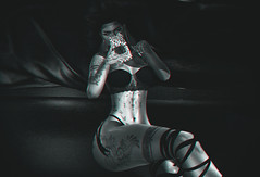 #509 If Only... (   Bonnii Hendes    Blogger    Decorator) Tags: argrace glitzz empire pose maniacs reign letis tattoo