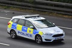YX16 FRL (S11 AUN) Tags: british transport police ford focus estate network incident response team traffic rpu roads policing 999 emergency vehicle patrol irv btp yx17frl