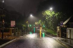 Spring Bridge Road (Wet Street) Ealing Broadway, 3rd August 2017 (LFaurePhotos) Tags: londonboroughofealing londonbynight springbridgeroad streetsoflondon deserted ealingbroadway lfaurephotos rain westlondon