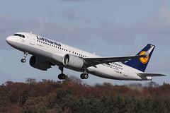 Airbus A320-271N D-AINC Lufthansa (Mark McEwan) Tags: airbus a320 a320271n neo dainc lufthansa aviation aircraft airplane airliner edi edinburghairport edinburgh firsttoflya320neo a320neo