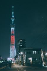 Skytree|晴空塔 (里卡豆) Tags: sumidaku tōkyōto 日本 jp olympus penf pro olympus17mmf12pro 17mm f12 skytree 晴空塔 東京 tokyo japan kanto 關東