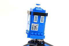 Flying LEGO Tardis Kinetic Sculpture (Josh DaVid LEGO Creations) Tags: lego doctorwho doctor who tennant tardis spaceship video mechanical moc mindstorms mochub contraption creation electronics technic instructions kinetic