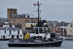 SD Suzanne (1) @ Portsmouth Harbour 08-10-18 (AJBC_1) Tags: boat vessel england unitedkingdom uk dlrblog ©ajc hampshire ship shipping ajbc1 thesolent greatbritain gb nikond5300 portsmouth serco tug tugboat sdsuzanne sercodenholmmarineservices portsmouthharbour