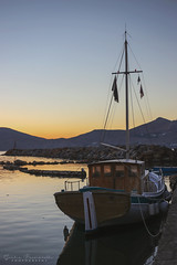 Sunset in Naoussa (pucciarellic) Tags: grece grecia greci greek island paros naoussa naousa cicladi isolagreca kikladhes suvlaki gyros sea summer estate mare canon canon6d 50mm sunset tramonto