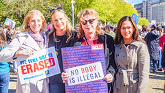 2018.10.22 We Won't Be Erased - Rally for Trans Rights, Washington, DC USA 06850