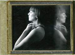 M. (denzzz) Tags: portrait polaroid55 expired roidweek polaroidweek instantfilm analogphotography filmphotography largeformat 4x5 wista45dx skancheli walimex daylight1260