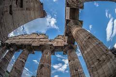 _DSC7967 (Dan Kistler) Tags: italy paestum greek temple clouds