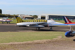 IMG_9639 (routemaster2217) Tags: northweald aviation aeroplane aircraft jetaircraft fighterjet follandgnatf1 bristolsiddeleyorpheus turbojet indianairforce gnatdisplayteam heritageaircraftltd e2961 gslyr