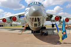 78820 (2) (ANDY'S UK TRANSPORT PAGE) Tags: planes riat fairford il76md ukrainianairforce 93466907