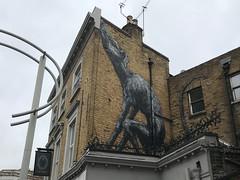 Roa art on Bellenden Road (Matt From London) Tags: peckham london roa mammal creature bellendenroad streetart